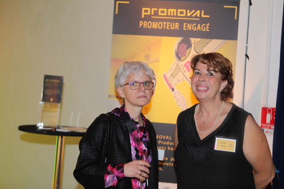 12. Corinne Authelain (Alcor Informatique) et Claudie Michel (Promoval)