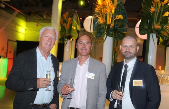 13. Jean-Claude Sieger (Maci), Pascal Achaintre (Saunier Duval) et Yann Chevalier (Promoval)