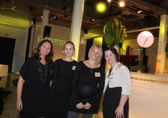 14. Pascale Vantusso, Aurélie Sebire, Marina Cretenet et Sandra (Promoval)