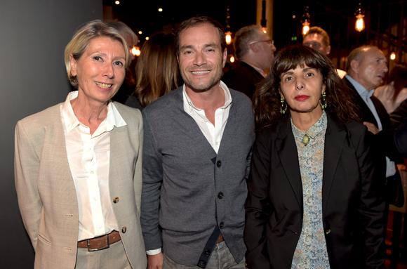 14. Myriam Picot, maire du 7ème, Serge Gradante (Ckleen) et Dominique