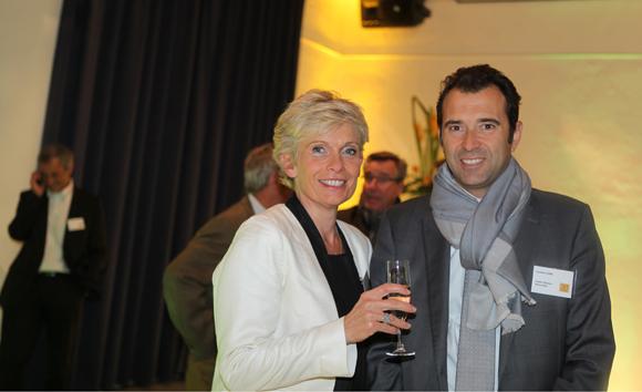 17. Isabelle Ardail et Laurent Loire (Caisse d'Epargne Rhône-Alpes)