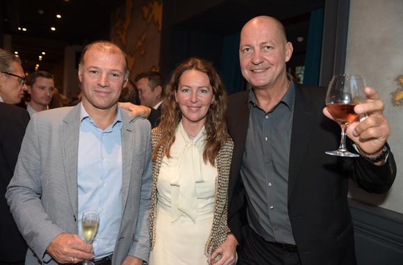17. Guy Cartellier (Champagne Taittinger), Kate Dumas (Dumas and Ci) et Alain Lorieux (Champagne Taittinger)