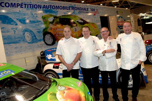 17. Gille Portenuve, Christophe Marguin, Gilles Maysonnave (Comptoir Brunet) et Benoit Toussaint (Paul'O)