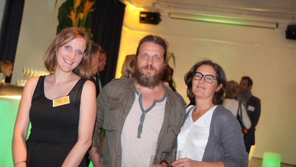 19. Ludivine Bonnet (Promoval), Serge Roby (Mairie de Lyon) et Audile Masson (Biooptima)