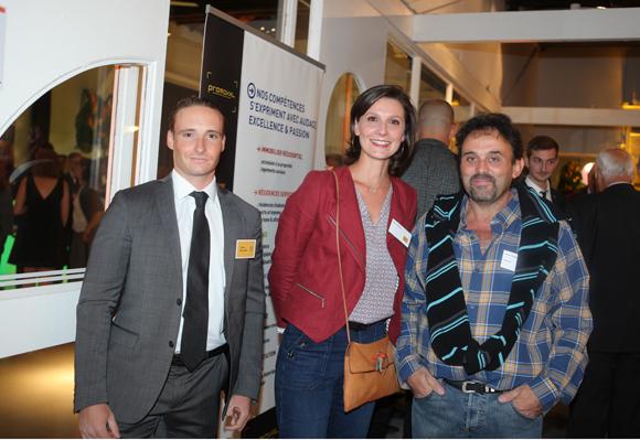 20. David Millara (Promoval), Astrid Hubsch (Nerco) et Carlos Pereira (CAR-ELEC)