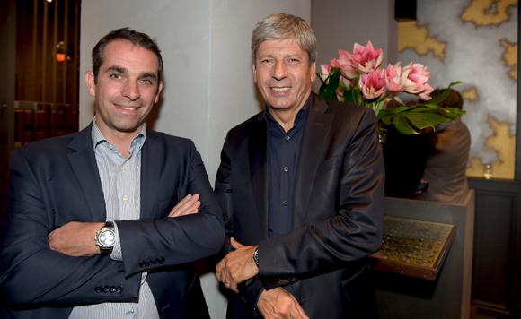 2. Romain Barry (Groupe Pichet) et Thierry Glories, président de TGL Group-Floriot