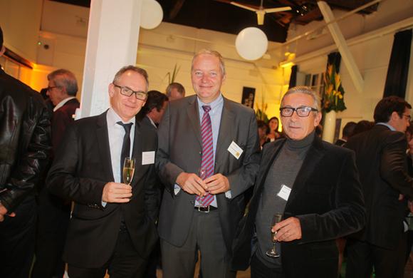 26. Bernard Nitard (Banque Cantonale de Genève), Olivier Malsch (Malsch Properties) et Renaud Tourvieille, architecte