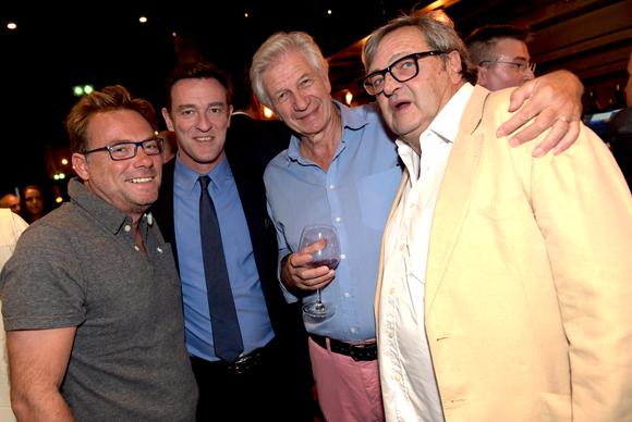 29. Pierre-Yves Gas (Agence Proxi'com), Michel Havard, conseiller municipal, Claude Polidori (Maison Victoire) et le docteur André Safar