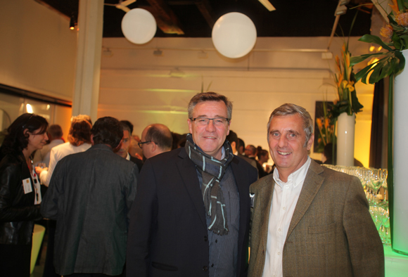 30. Laurent Daublain (Syloc) et Stanislas Brochier (Ascomedia)