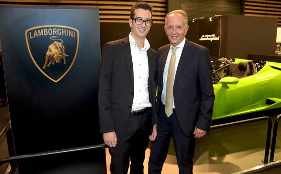 31. Eric Vernusse (Banque Rhône-Alpes) et son fils Clément (Béatrice Collin Immobilier)