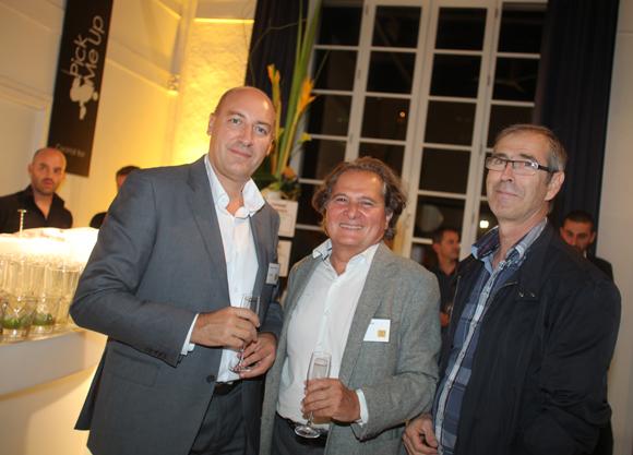 32. Christophe Duchateau (Axis-Bâtiment), Gérard Philippe (PET Philippe) et Gilles Franco (Axis-Bâtiment)