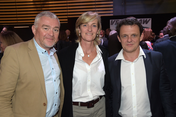 32. Jean-Louis Joly, DG du Medef Lyon-Rhône, Blandine Peillon (Jours de Printemps) et Laurent Fiard, président du Medef Lyon-Rhône