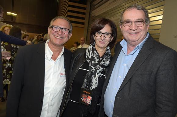 34. Gilles Maysonnave (Comptoir Brunet), Françoise Sibilia (Chez Moss) et Gilbert Reboul (GCL)