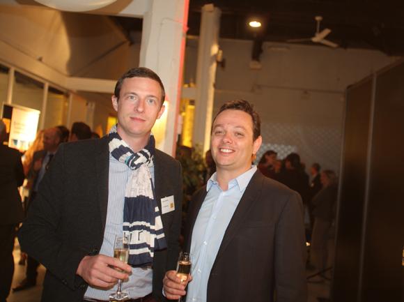35. Jérémy Garcin (LCG Promotion) et Nicolas Sagez (Aires d'Entreprises)