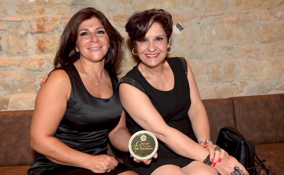35. Roya Hataminia (Sensation Caviar) et Irène Rostamian (FCPI)