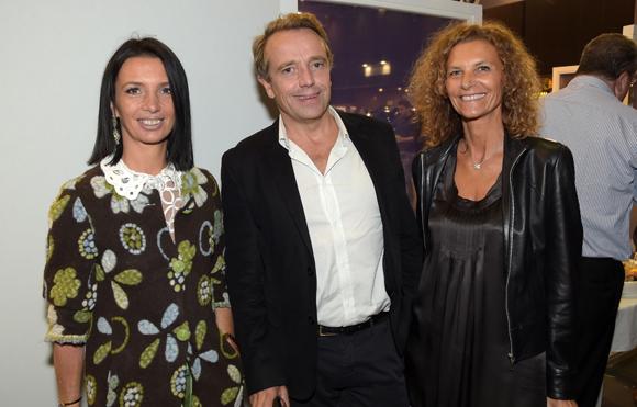 35. Karine Fontaine (Floriot immobilier prestige), Philippe Carron (Fatton) et Nathalie Cot