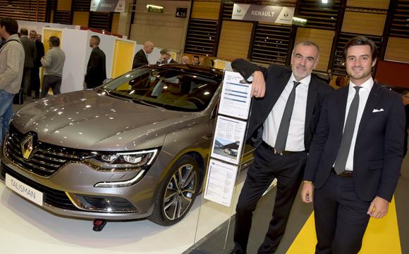 36. Christian Coulot et Maxime Levotre (Renault Lyon Ouest)