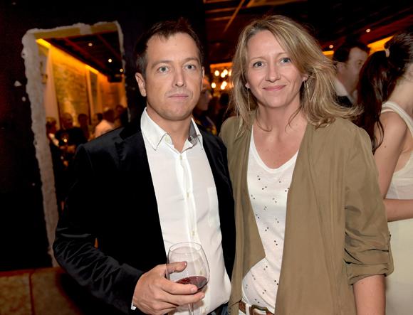 38. Charles Darnault et son épouse Isabelle (C Gastronomie)