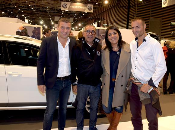 38. Yoann Roussel (Tonic Radio), Gilles Mondesir, président Association Sportive Automobile du Rhône, Marlène Pansier et Christian d'Aubarède (Tonic Radio)