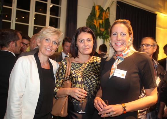 39. Isabelle Ardail (Caisse d'Epargne Rhône-Alpes), Cécile Chomard, architecte (A-Graph Architectes) et Meryl Lantier (Advenis)