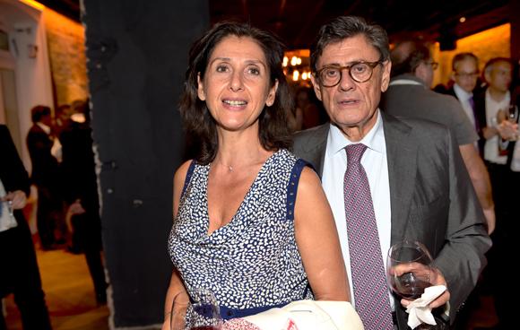 40. Fernand Galula (Immogal) et sa fille Laurence