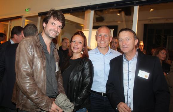 40. Damien Corsant, Céline Michel (Agence Melbourne), Gwen Millien et Eric Gomez  (Answers Immobilier)
