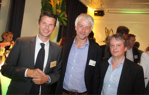 41. Grégory Fouque (Promoval), Hubert Julien-Laferrière, maire de Lyon 9ème et Simon Virlogeux, directeur de cabinet du maire du 9ème