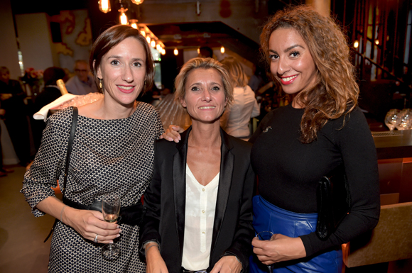 4. Charline Bresse (Les Clés du Luxe), Sybille Pierot, conseillère régionale et Malya Zaim (Les Clés du Luxe)