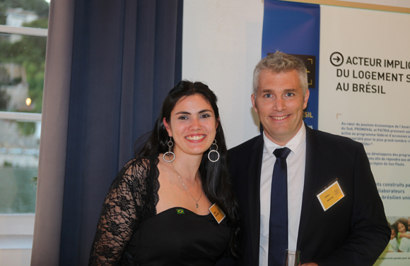 4. Débora Galhardi (Promoval Brésil) et Cédric Martin (Promoval)