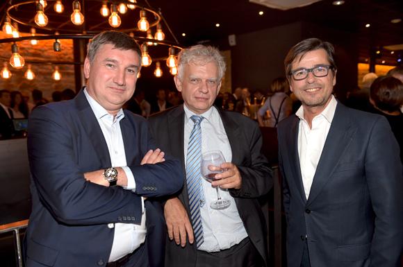 44. Christophe Guilloteau, président du Département du Rhône, Jean-Paul Viossat, président de Rives & Développement et Emmanuel Hamelin, conseiller municipal