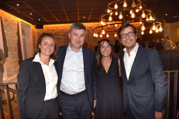 45. Sophie Cruz, Christophe Guilloteau, président du Département du Rhône, Emmanuel Hamelin et son épouse Olivia