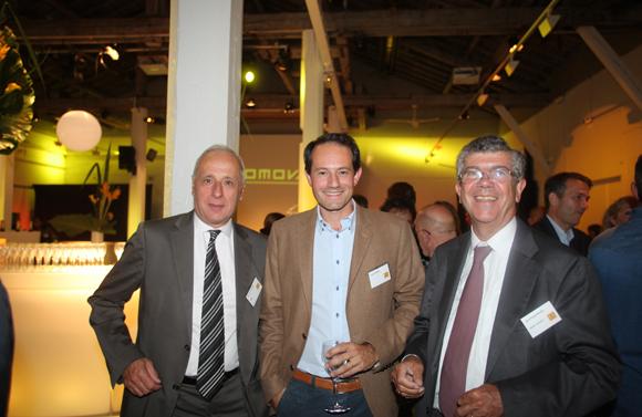 45. Bruno De Labarre (Banque Martin Morel), Florent Hubsch (Amotec) et Maître Jean-Philippe Delsol (Delsol Avocats)