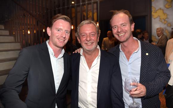 48. Jean-Claude Lavorel, ses fils Benjamin et Stan