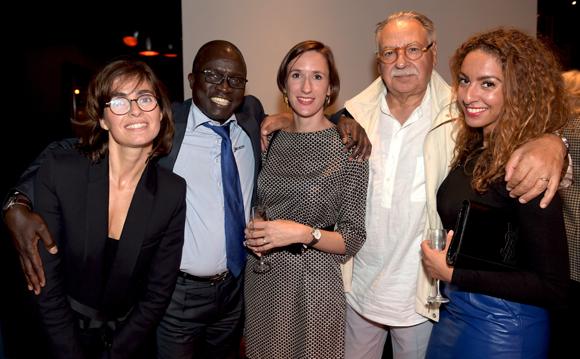 51. Marie Courdouan, Laye Diop (Marriott Hôtel), Charline Bresse (Les Clés du Luxe), Albert Constantin et Malya Zaim (Les Clés du Luxe)
