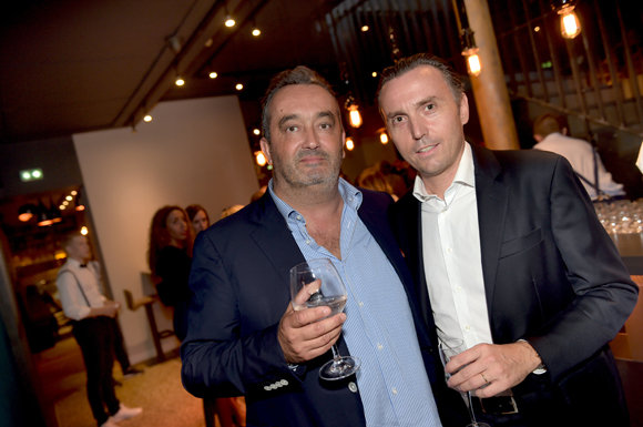 5. Pierre Nallet (AnaHome Immobilier) et Stéphane Targe (Miroiterie Targe)
