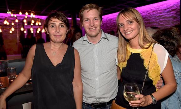 54. Christelle Cimetière (EMC), Alexandre Jeannerod (Eurosono) et Caroline Lardin (Au-delà d'une fleur)