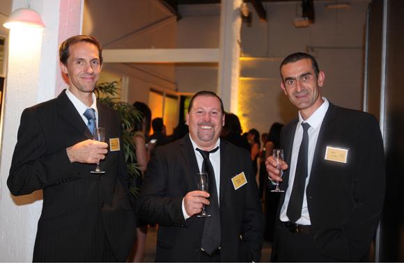 7. Julien Beruard, Stéphane Gimaret (Studilodge) et Didier Lepore (Art Pierre services)