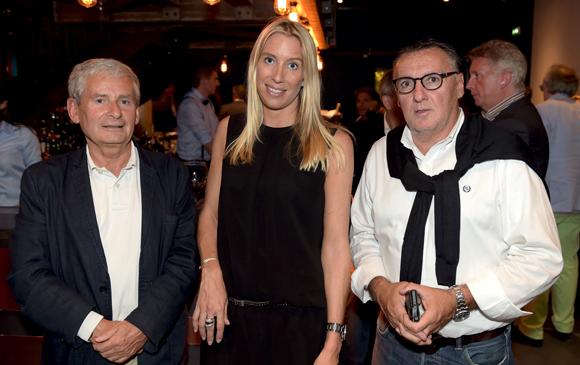 8. Jean-Pierre Dini, Aline Germain (DS Automobile) et Marc Jean (Le Progrès)