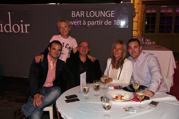 6. Ludovic, Gersende, Elodie, Pascal et Rudy