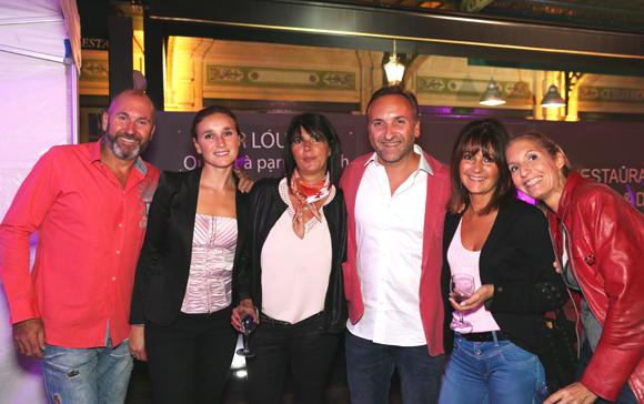 14. Yanick, Karine, Anne So, Daria, Richard, Valérie et Sarah