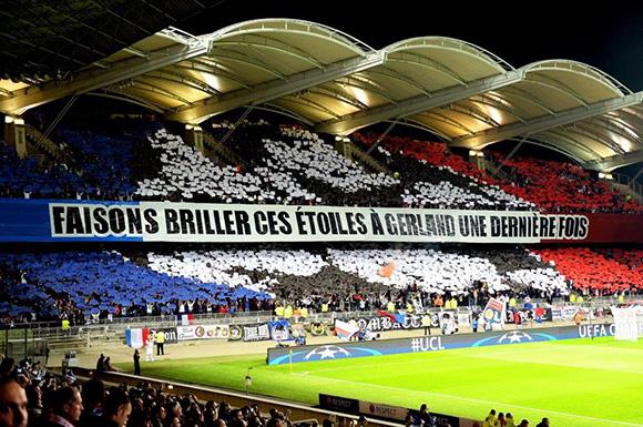 Ligue des Champions. Les tribunes VIP d'OL-Valencia FC