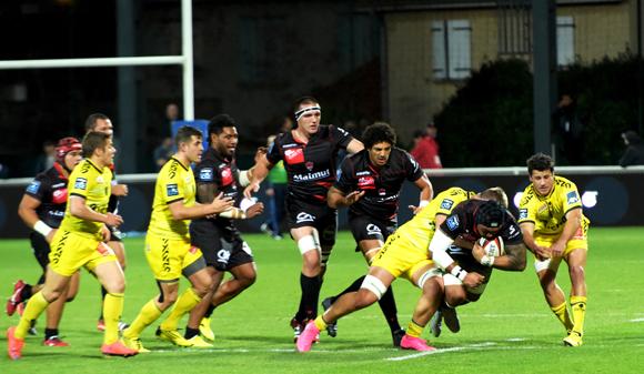 Les tribunes VIP de LOU Rugby – US Carcassonne