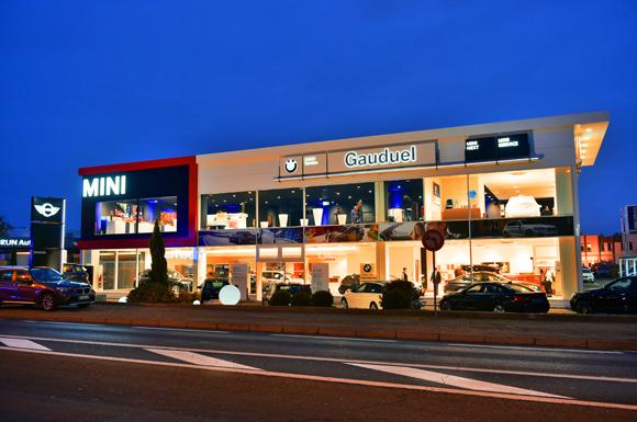 Inauguration de la nouvelle concession BMW MINI Gauduel. Villefranche sur Saône