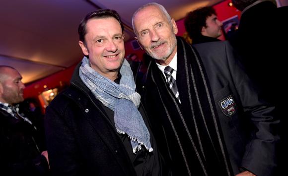 10. Charles Lesueur (Xystem) et Gilbert Lamothe (CDOS)