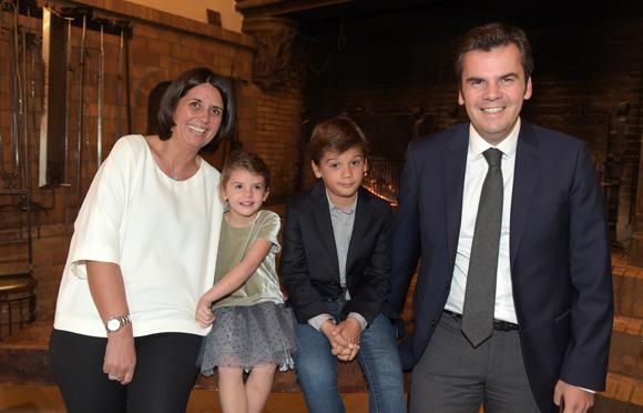 11. Arnaud Xerri, son épouse Candice, leurs enfants Ambre et Andréa