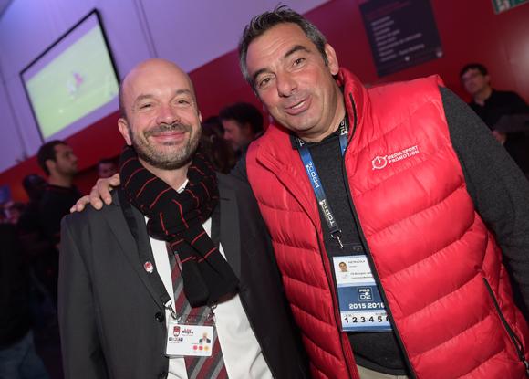 12. Julien Bonnard (LOU Rugby) et Laurent Pietrocola (Média Sport Promotion)