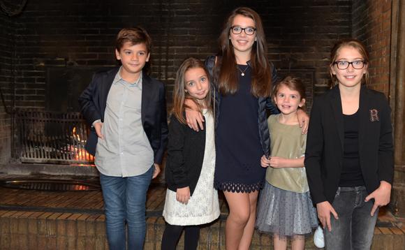 13. Andréa, Carla, Paola, Ambre et Giula
