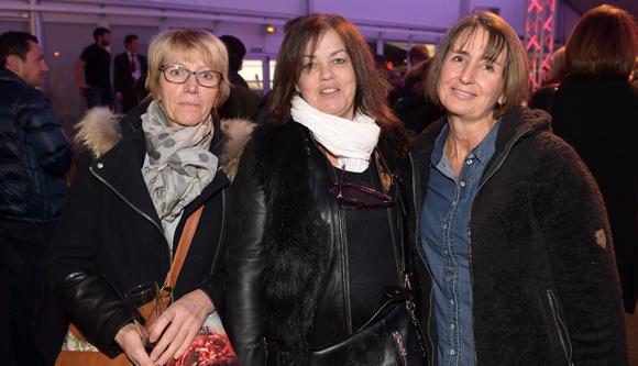 14. Marie-Noëlle Guerry (CCPA), Sophie Crouzet (Crouzet) et Marie-Noëlle Perret (Entreprise Perret)