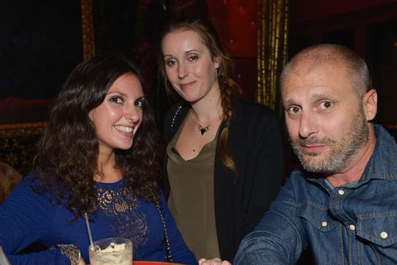 14. Isabelle Charconnet (Bonne Réponse), Cécile Dubuis (Ywaïe) et DJ Misteryan