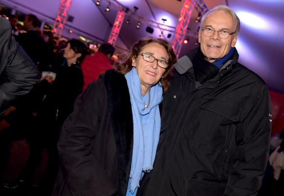 15. Michel Noir, ancien maire de Lyon et son épouse Danielle